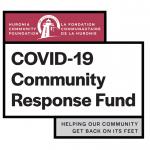 HCF Covid-19 Community Response Fund Graphic