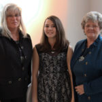 Erin Moriarty with her mother and grandmother